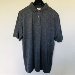 NWOT Grand Slam Men's Golf Polo Shirt XL Grey